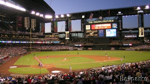 bankone ballpark stadium