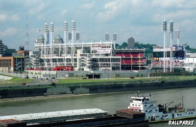 early rendering of the  riverfront stadium complex