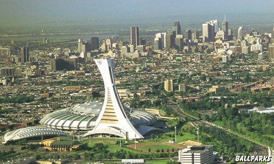 Montreal Olympic Games Olympic Stadium And Montreal