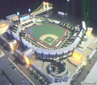 PNC Park renderings and models